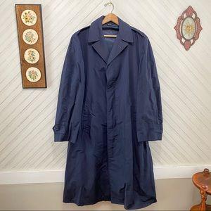 Vintage USAF Air Force Regulation Raincoat Trench